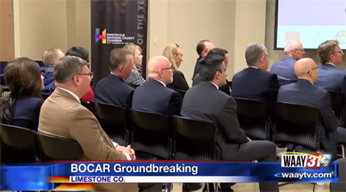 BOCAR Groundbreaking Ceremony - Huntsville, Alabama