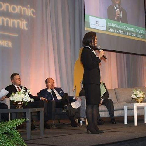 Nicole Jones Speaking at the Inaugural Alabama Economic Growth Summit