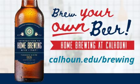Calhoun to bring back Intro to Home Brewing this Fall