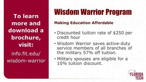 Wisdom Warrior Program