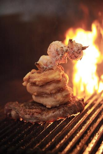 Wood fired Steaks