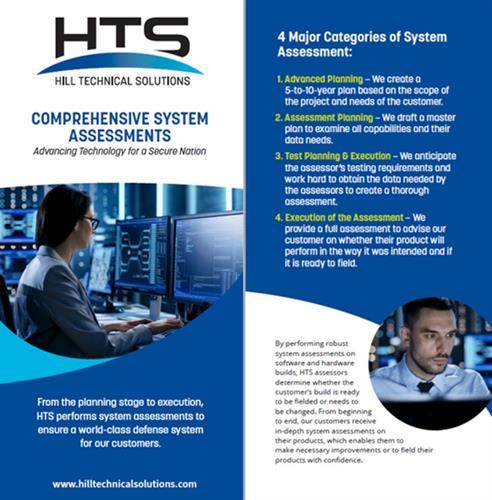 Comprehensive System Assessments
