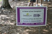 Comfort Care Hospice sponsored walk in honor of our patients.