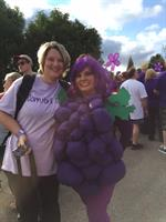 Jennifer Rogers, Administrator with Karen Ammons, Marketing Consultant at Alzheimer's Walk