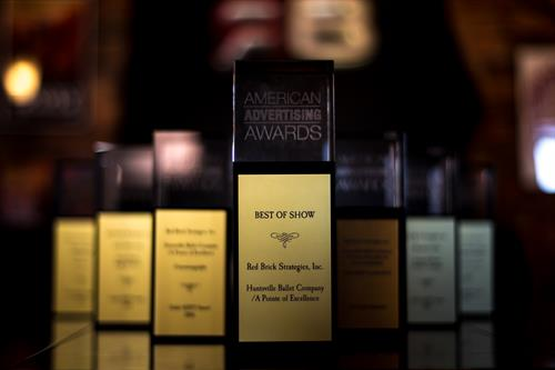 57 (!) American Advertising Awards.  3 Best of Show Honors.  5 years.  More than the other guys...combined.