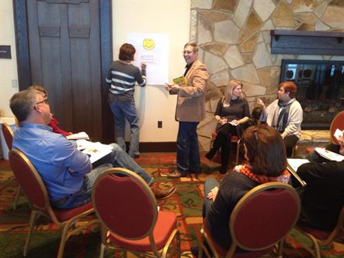 Facilitating in small groups