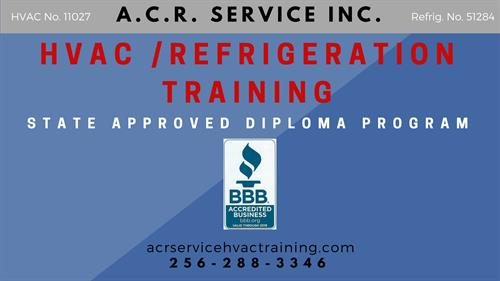 HVAC AND REFRIGERATION TRAINING