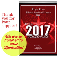 Thank you Huntsville For your support!
