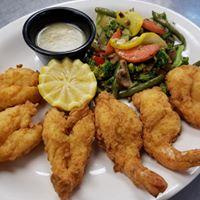 Lunch Fried shrimp
