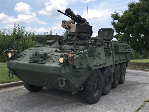 R400S Mk2 D on Stryker