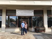 Jason & Christa Butler, owners of Preservation Co. on Meridian St.