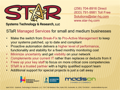 STaR Managed Services
