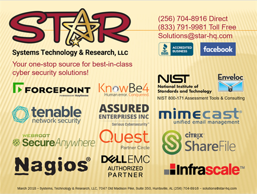 STaR Cyber Security Vendor Partnerships