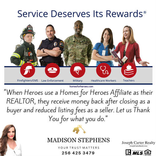 Your Homes For Heroes Realtor