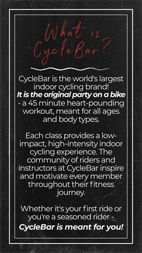 What is CycleBar
