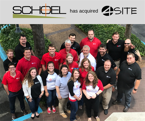 As of July 1, 2019, 4Site officially became part of Schoel Engineering.