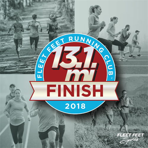 Train for your first or 50th Half Marathon at Fleet Feet