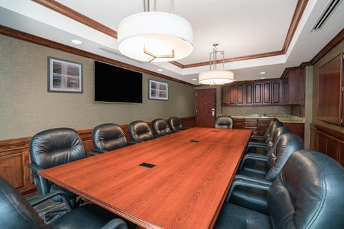 Executive Boardroom with Patio Access