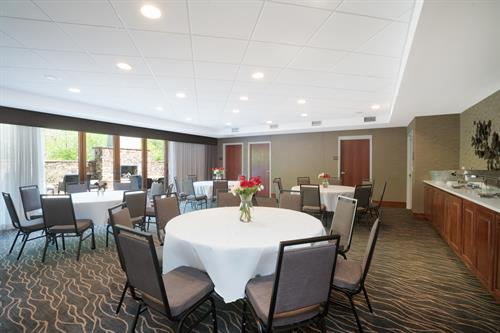 Main Banquet Room with Patio Access