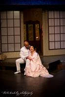 Roderick George and Gloria Ko in Madama Butterfly, 2014