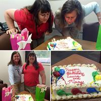 Celebrating birthdays!