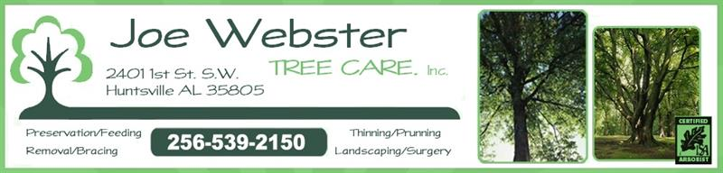 Joe Webster Tree Care Inc.