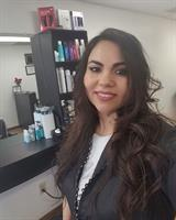 Literacy Network student Lorena Villalobos just opened her salon with help from the Latino Chamber of Commerce.