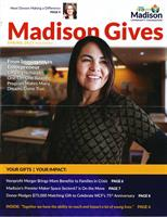 Lorena Villalobos was featured on the cover of the Madison Community Foundation newsletter for her awesome work with Literacy Network