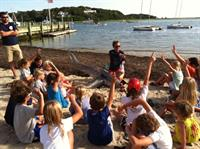 Shark Education at the Stage Harbor Yacht Club