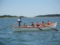 rowing surf rescue boat