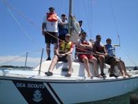 Crew on board Luna