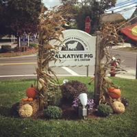 Local Business Seasonal Display: Fall