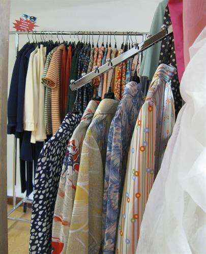 We specialize in fun, not fussy, vintage clothing and accessories.