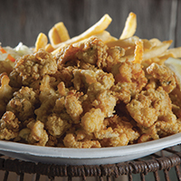 Our award-winning fried clams!