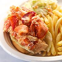 Lobster rolls -- served cold or warm!
