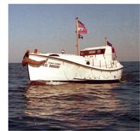 Motor Lifeboat CG36500, featured in the Disney film The Finest Hours and owned by the OHS