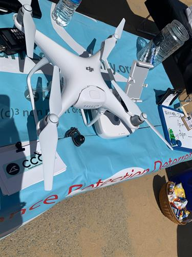 Make Available Unmanned Aerial system tests to provide Eyes in the Sky