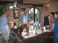 Cooking with John Carafoli in Umbria
