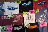 World famous t-shirts.