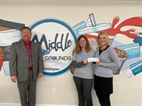 LOCAL ORGANIZATION RECEIVES $1,000 DONATION