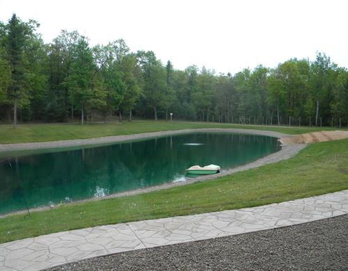 1 acre swimming pond (treated)