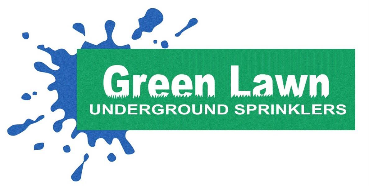Green Lawn Underground Sprinklers
