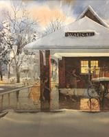 Wausau's Famous Train Station Paintings On Display Beginning October 18