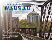 Calendar featuring local photography, events available for purchase