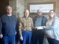 North Central Health Care Receives Generous Donation from Antigo Knights of Columbus