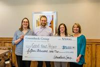 Greenheck Group Donates $15,000 to Good News Project