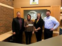 LOCAL ORGANIZATIONS RECEIVE $2,100 DONATIONS