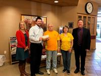 WAUSAU METRO ADULT SPECIAL OLYMPICS RECEIVES $700 DONATION FROM ABBOTSFORD STORY, INC.