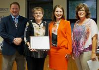 Wausau School District--Rene Ison Receives Board's Resolution of Commendation
