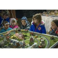 Christmas Train Village - SMCC